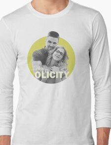 I Ship Olicity - Arrow Long Sleeve T-Shirt