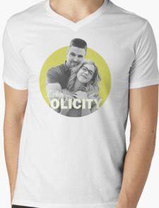 I Ship Olicity - Arrow Mens V-Neck T-Shirt