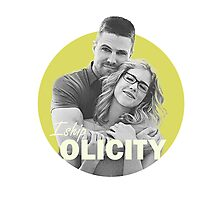 I Ship Olicity - Arrow Photographic Print
