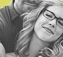 I Ship Olicity - Arrow Sticker