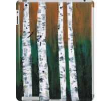 Natural Birch Trees iPad Case/Skin