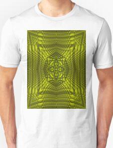 Yellow Rattan Unisex T-Shirt