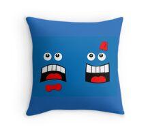 Dr FACE Throw Pillow