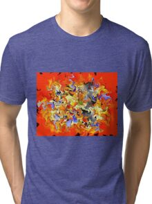 Gamminius V1 - digital abstract Tri-blend T-Shirt