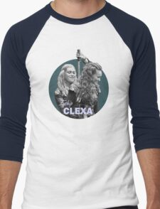I Ship Clexa - The 100  Men's Baseball ¾ T-Shirt