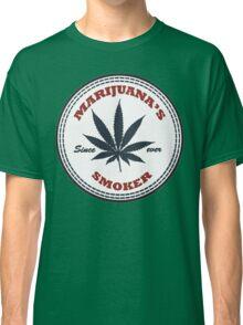 Marijuana's smoker Classic T-Shirt