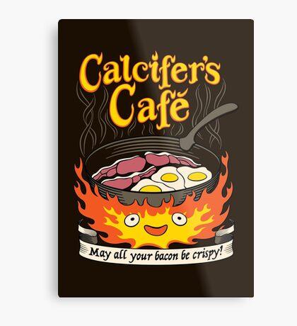 Fire Demon's Cafe Metal Print