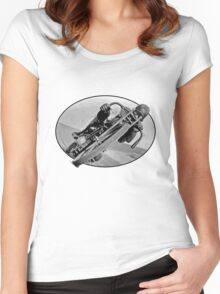 Vintage Race Bike Women's Fitted Scoop T-Shirt