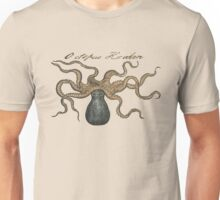 Octopus Kraken Vintage Illustration Sea Monster Unisex T-Shirt