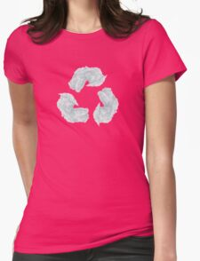 recycling Womens Fitted T-Shirt