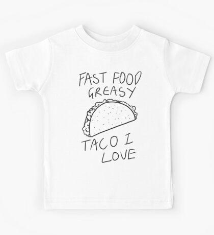 Taco Bell Saga Kids Tee