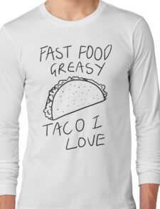 Taco Bell Saga Long Sleeve T-Shirt
