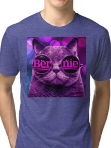 Cool Cat 4 Bernie Tri-blend T-Shirt