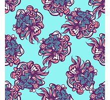 Abstract floral seamless pattern Photographic Print