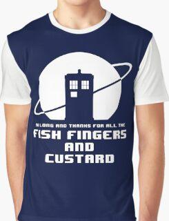 Fish Fingers and Custard White Graphic T-Shirt