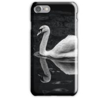 Softness - swan in canal iPhone Case/Skin