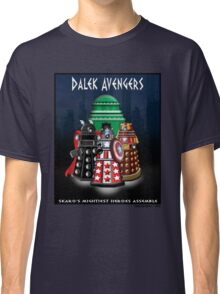 Marvel at the Su-WHO-per-heroes Classic T-Shirt