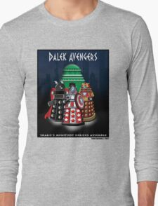 Marvel at the Su-WHO-per-heroes Long Sleeve T-Shirt