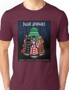 Marvel at the Su-WHO-per-heroes Unisex T-Shirt