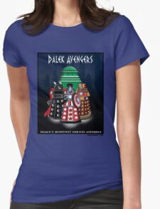 Marvel at the Su-WHO-per-heroes Womens Fitted T-Shirt