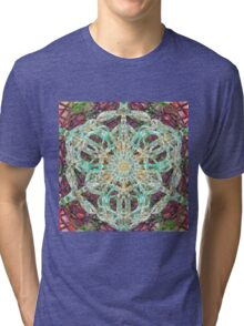 Knotted Cloth Ghosting Presence Tri-blend T-Shirt