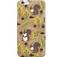 Chocolate squirrels iPhone Case/Skin