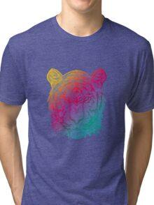 Warm Tiger Tri-blend T-Shirt