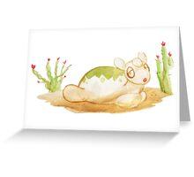 Numel Greeting Card