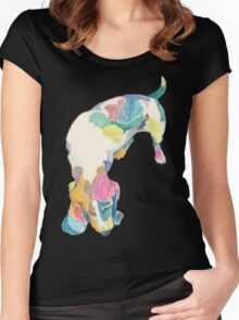 Helen (a dog of new york) Women's Fitted Scoop T-Shirt