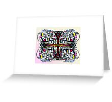 Vibrant Happenings Greeting Card