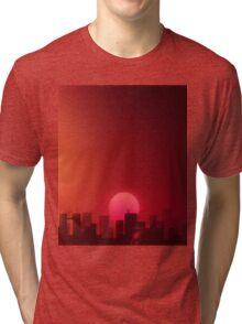 Hotline Miami Landscape Aesthetics Tri-blend T-Shirt