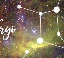 Virgo Zodiac Sign, August 23 - September 22 Sticker