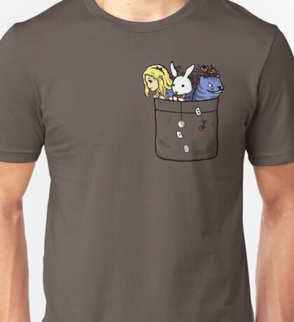Pocket Wonderland Unisex T-Shirt