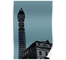 London Landmark by Tim Constable Poster