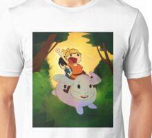 Giant Bunny Ride Unisex T-Shirt