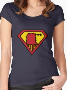 Super-Dalek Women's Fitted Scoop T-Shirt