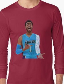 "Deangelo Russell ""ice in my veins"" Long Sleeve T-Shirt"