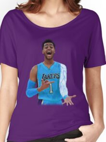 "Deangelo Russell ""ice in my veins"" Women's Relaxed Fit T-Shirt"