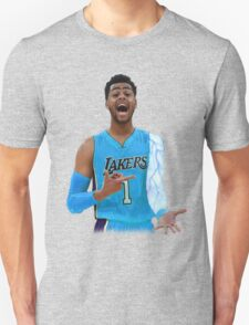 """Deangelo Russell """"ice in my veins"""" Unisex T-Shirt"""