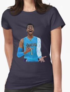 """Deangelo Russell """"ice in my veins"""" Womens Fitted T-Shirt"""