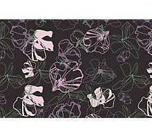 Floral Doodle Photographic Print