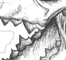 Wolf Skulls Sticker
