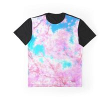 Cherry Blossom Sakura Tree Graphic T-Shirt