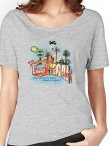 las vegas Women's Relaxed Fit T-Shirt