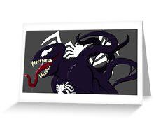 Venom Marvel Greeting Card