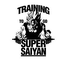Super Training Saiyan Photographic Print