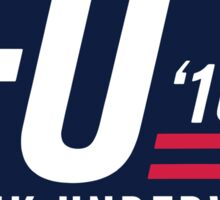 FU 2016 - Blue Sticker