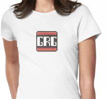 Grumpy Retro Gamers Logo Womens Fitted T-Shirt