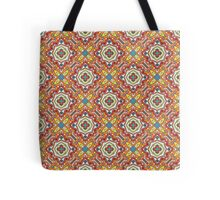 Bright traditional Talavera ornament.  Tote Bag