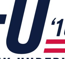 FU 2016 - White Sticker